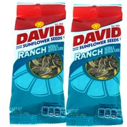 David Sunflower Seeds 12ct - Ranch