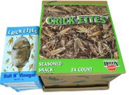 Real Crickets Snacks 24 Count Salt & Vinegar