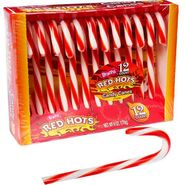 Red Hots Candy Canes 12 Count