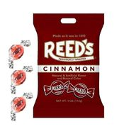 Reed's Cinnamon Hard Candies 4oz Bag