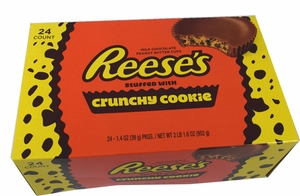 Reese's Crunchy Cookie Candy Bars 24 Count