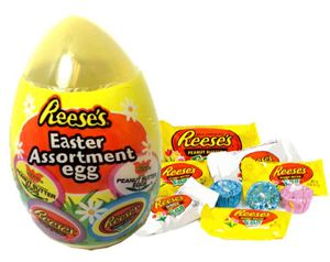 Reese's Easter Egg Filled With Reese's