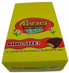 Reese's KING size Peanut Butter Eggs 24ct