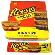 Reese's Peanut Butter Lovers King Size 24 Count