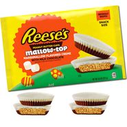Reese's Peanut Butter White Mallow Creme 9.6oz Snack Size