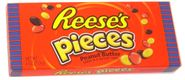 Reese's Pieces 4oz Theater Size Box
