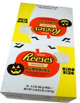 Reese's Pumpkin White Chocolate King Size 24 Count