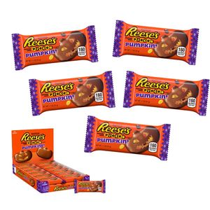 Reese's Pumpkins With Reese's Pieces 24 Count