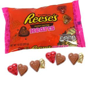 Reese's Valentine's Day Peanut Butter Hearts 10oz Bag