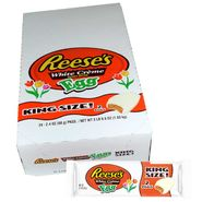 Reese's White Chocolate Peanut Butter Eggs 24 Count King