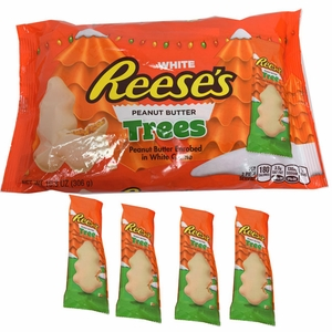 Reese's White Chocolate Peanut Butter Trees 10.8oz Bag