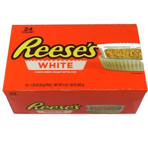 "Reese's ""White"" Peanut Butter Cups 24 Count"