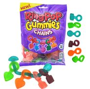 Ring Pop Gummies Chains 5oz Bag