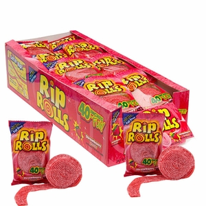 Rip Rolls Strawberry 24 Count
