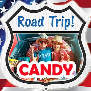 Road Trip Candy & Snacks