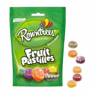 Rowntree Fruit Pastilles 5.3oz Bag