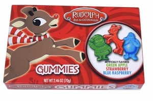 Rudolph Red Nose Gummies 2.46oz
