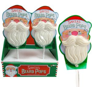 Santa's Beard Lollipops 12 Count