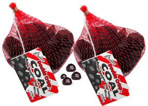 Santa's Candy Chocolate  Coal 3.4oz Bag (1) - RM Palmer