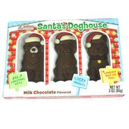 Santa's Chocolate Dogs In House 3oz