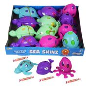 Sea Animal Skinz With Smarties 12 Count