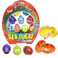 Sea Quest Easter Eggs Filled With Candy 12 Count