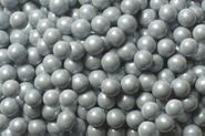 Silver Mini Chocolate Balls 2lb Bag Sixlets
