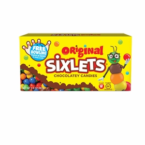 Sixlets Candy 3.5oz Box