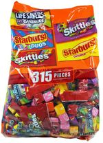 Skittle Starburst Variety Bag 315 Pieces