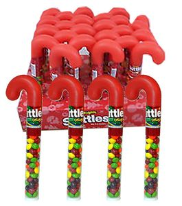 Skittles Filled Cane (One) 1.7oz
