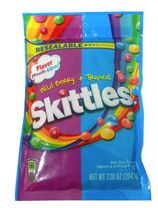 Skittles Flavor Mashups Tropical & Berry 7.20oz bag