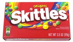 Skittles Regular 3.5oz Box