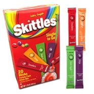 Skittles Singles To Go Drink Mix 20 Count