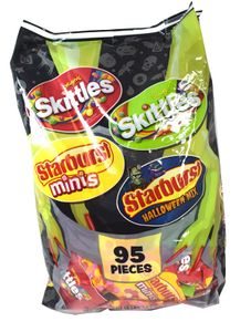 Skittles Starburst Fun Size Mix 95 Count
