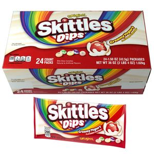 Skittles Yogurt Dips 24 Count