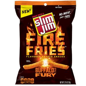 Slim Jim Buffalo Fries 2.75oz Bag