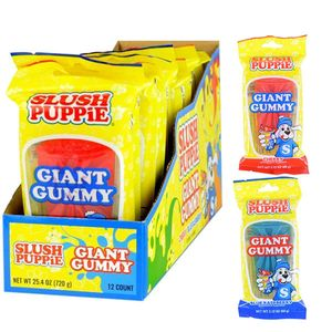 Slush Puppies Giant Gummy 12 Count