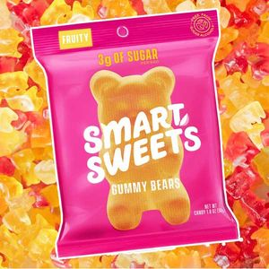Smart Sweets Gummy Fruit Bears 1.8oz Bag