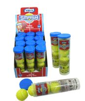Smash Tennis Ball Bubble Gum 12 Sleeves
