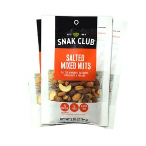 Snak Club Mixed Nuts 2.75oz Bag