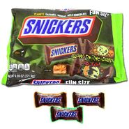 Snickers Glow In The Dark Fun Size 9.59oz Bag