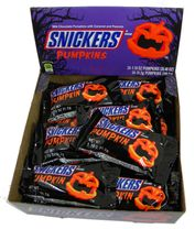 Snickers Pumpkins  24 Count