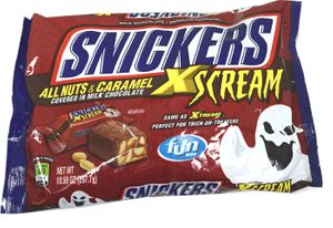 Snickers XSCREME Fun Size Halloween Candy Bars 16 Count