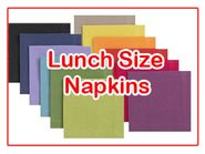 Solid Color Lunch Napkins