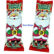 Solid Milk Chocolate Santa 4.4oz (One)
