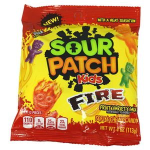 Sour Patch Kids Fire 4oz Bag