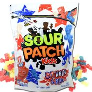Sour Patch Kids Red, White, Blue 1.9lb Bag