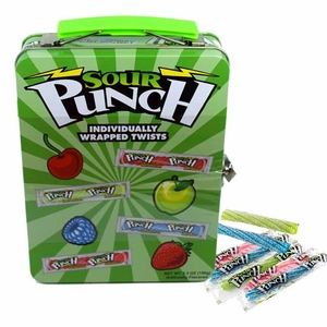 Sour Punch Candy Lunch Box