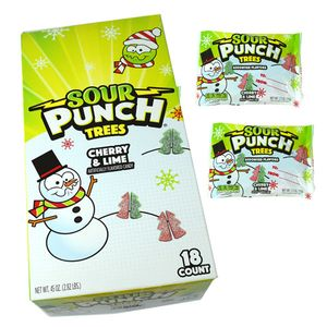 Sour Punch Candy Trees 18 Count
