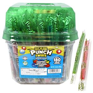 Sour Punch Twists 180 Count